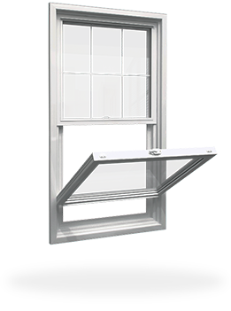 hung window example