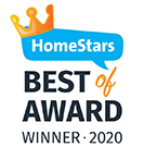 Best of Home Stars Award Badge