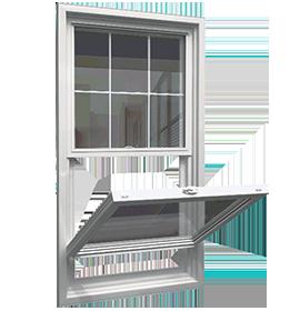Hung egress window